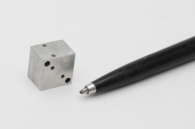 Small precise machined part